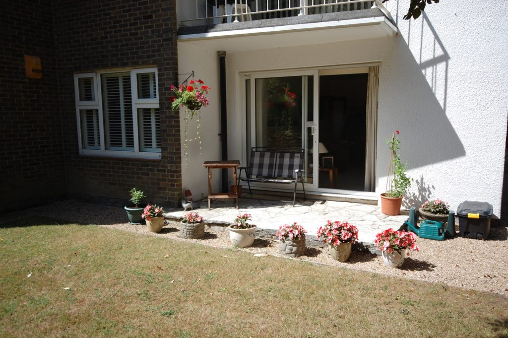 GARDEN APARTMENT WITH SUN TERRACE featured image